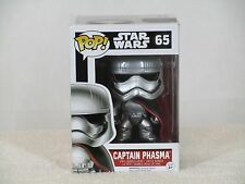 FUNKO# 65 Star Wars The Force Awakens CAPTAIN PHASMA Pop! Vinyl Bobble Head