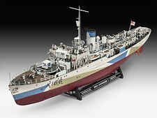 REVELL-Flower class corvette HMCS snowberry, nuovo, confezione originale, scala 1:144, 05132