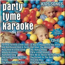 PARTY TYME KARAOKE: KIDS SONGS (NEW CD)