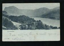 Cumbria BUTTERMERE 1901 u/b PPC QV stamp B&D #1492