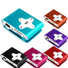 5 Colors Mini Clip Metal USB MP3 Player Support Micro SD TF Card Music Media HOT