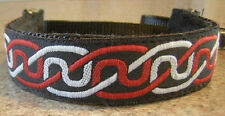 RED CELTIC  KNOT MARTINGALE COLLAR LEAD ITALIAN GREYHOUND TOY FOX RAT TERRIER