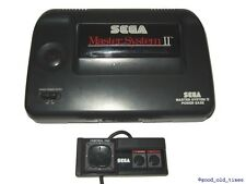 ## SEGA Master System 2 Konsole + Pad + Sonic 1 + Strom- & TV-Anschluss - TOP ##