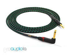 "Evidence Audio Lyric HG Instrument Cable | Neutrik Gold 90º to 1/4"" TS 