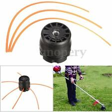 Universal Double Line Trimmer Head Bobbin Set for Gasoline Brushcutter Lawn ABS