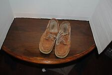 Sperry Top Sider Brown Boat Shoes Womens Size 9M Leather Uppers