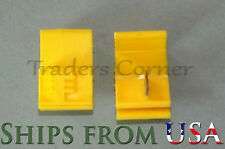 50Pcs Yellow Quick Lock/Snap On Splice Crimp Electrical Cable Wire Connectors