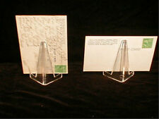 Postcard Clear Acrylic Display Stand 80 pcs ! Classy! New !