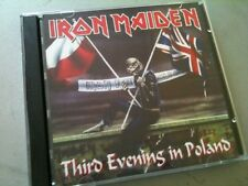Iron Maiden Double CD Poznan Poland Powerslave Tour 1984