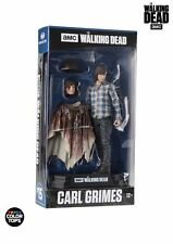 "The walking dead carl grimes 7"" figure couleur tops bleu (mcfarlane)"