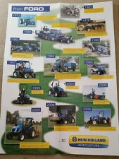 FORD NEW HOLLAND TRATTORE storia POSTER