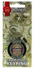 Guinness 2016 Collectors Edition Spinner keyring with two charms (sg 5411)