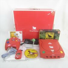 Dreamcast Sega SEAMAN Xmas Package Console System Limited FREE SHIPPING 1701