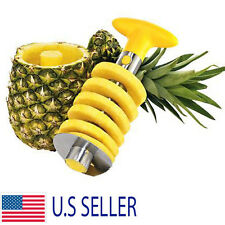 Stainless Steel Pineapple Corer Fruit Slicer Cutter Kitchen Gadget Spiral Peeler