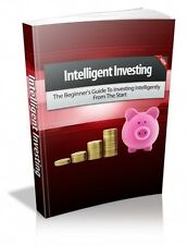 Intelligent Investing  + 10 Free eBooks With Resell rights ( PDF )