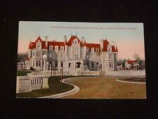 Antique POSTCARD - Government House, TORONTO, CANADA, Postmarked 1917
