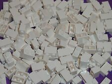 LEGO NEW 1X2 White Bricks Bulk Lot of 100 Pieces 3004