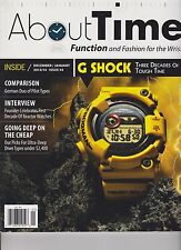 ABOUT TIME MAGAZINE #4 DEC 2013/ JAN 2014, FUNCTION AND FASHION FOR THE WRIST.