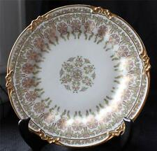 "Antique CH FIELD HAVILAND LIMOGES France Gold Decor 8 1/2""d Salad Plate"
