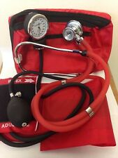 ANEROID SPHYGMOMANOMETER BLOOD PRESSURE CUFF WITH RAPPAPORT STETHOSCOPE