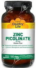 Vegan Zinc Tablets, 25mgx100;- INFERTILITY - SPERM COUNT