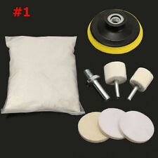 Glass Polishing Kit w/Cerium Oxide Powder Car Polish Scratch Remover Cleaning