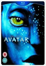 Avatar Limited Edition Steelbook Bluray Sam New Sealed Original UK Release R2