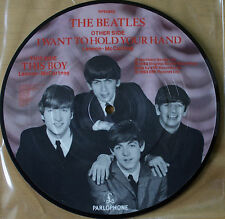 NEW! THE BEATLES I WANT TO HOLD YOUR HAND 20TH ANNIVERSARY Vinyl Picture Disc