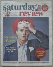 Paul Merton - Times Saturday Review – 8 August 2015