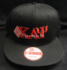 Kappa Alpha Psi Black New Era NE400 Snap Back with Red Letters Diamond Patch