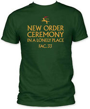 New Order-Ceremony-X-Large Forest Green Fitted  T-shirt