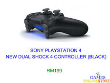 PS4 New Dual Shock 4 Controller (Black) ★Brand New & Sealed★