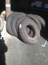 Military 9.00-20 9.00x20 NDT 8 Ply Tire Unused and High Tread Take-off, Set of 4