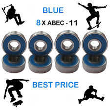 8 Abec 11 PRO wheel bearings stunt scooter Skateboard Quad inline roller skate 9