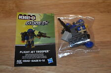 2013 Hasbro KRE-O G.I.JOE A7868 Collection 3 FLIGHT JET TROOPER Kreon Figure OOP