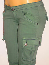 NWT Machine, Military Paratrooper, Camouflage, Green Cargo Pants Sizes 1