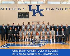 Kentucky Wildcats 2012 NCAA Basketball Ball Champions - 8x10 Team Photo