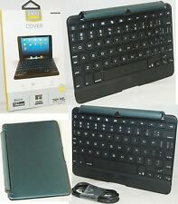 "NEW ZaggKeys iPad Mini 1 BLACK Cover Keys Bluetooth 7"" Keyboard Case Stand zagg"