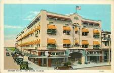 Florida, FL, Fort Myers, Morgan Hotel Early Postcard