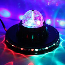 Voice-activated Rotating Stage Light RGB Colorful LED Crystal DJ Disco Xmas Lamp