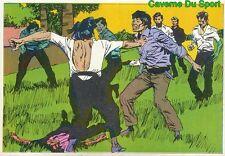 033 BRUCE LEE STICKER VIGNETTE FIGURINE CROMO KUNG FU KARATE FRANCE 1976