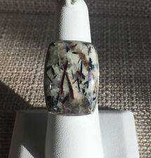 JAY KING Astrophyllite *Rare* Ring, Sterling Silver Size 7
