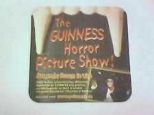 GUINNESS   HALLOWEEN   Beermat / Coaster 2 sided -  Horror  Picture show