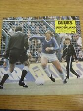 27/12/1980 Birmingham City v Sunderland  (Faint Fold). Trusted sellers on ebay b