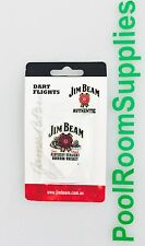 Official Licensed Jim Beam Dart Board Dart Flights (Set of 3 Flights) Xmas Gift