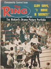 THE RING MAG MUHAMMAD ALI aka CASSIUS CLAY CHAMPIONSHIP CARNIVAL ISSUE JUNE 1965