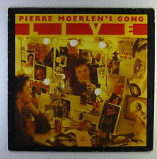 """12"""" LP - Pierre Moerlen's Gong - Live - L5210c - washed & cleaned"""