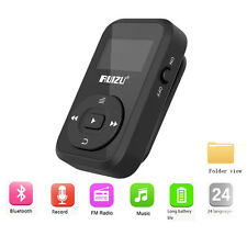 RUIZU X26 Clip Bluetooth MP3 player 8GB Support SD Card FM Radio Voice Recorder