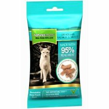 Natures Menu- 3 packs of Salmon & Trout cat treats with 95% REAL MEAT G Free