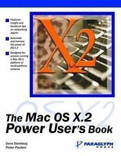 The Mac OS X.2 Power User's Book
